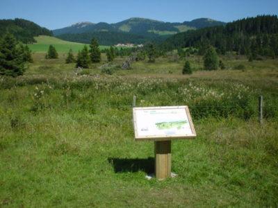 table d'interprétation de paysage