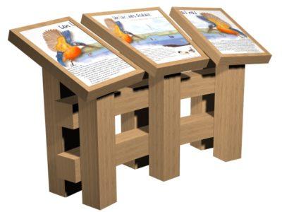 table triptyque d'interprétation
